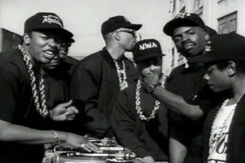 The D.O.C con gli N.W.A
