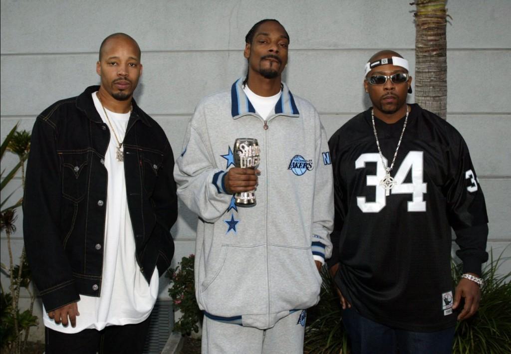I 213. Da sinistra: Warren G, Snoop Dogg e Nate Dogg.