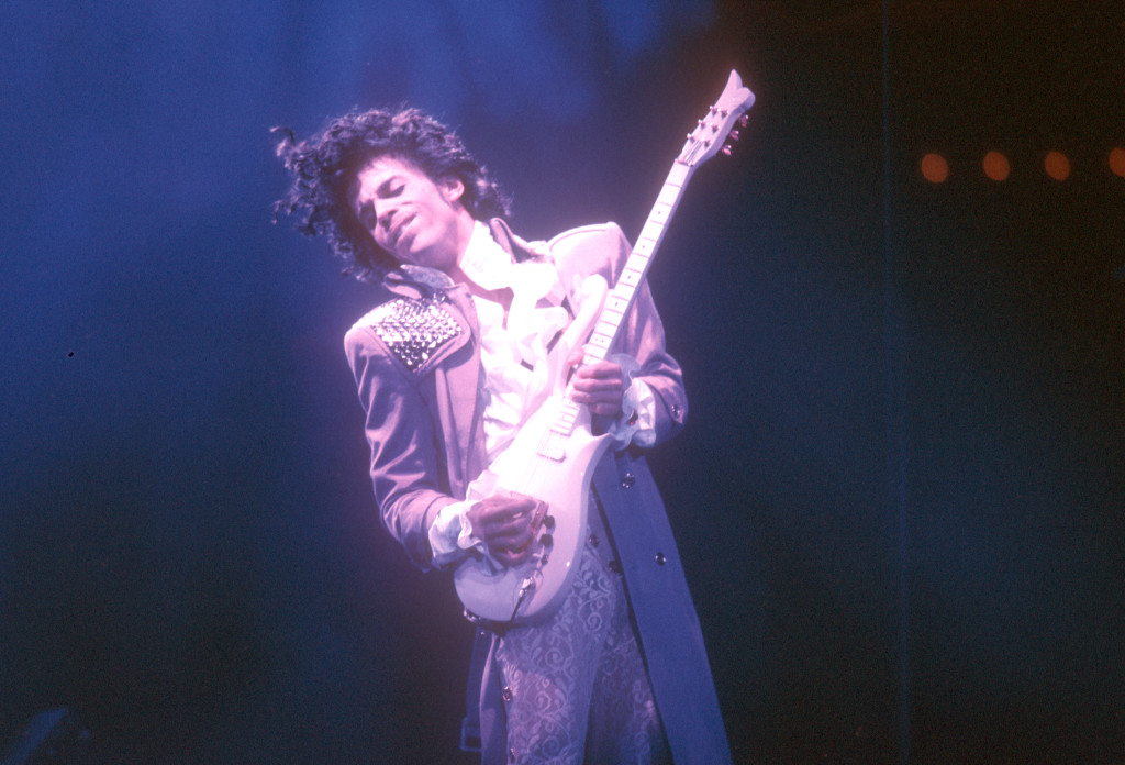 Prince al Fabulous Forum di Inglewood (California), nel 9185.