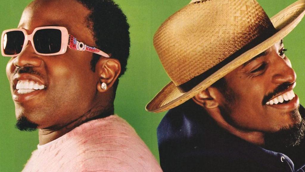 "Gli OutKast: Antwan ""Big Boi"" Patton e André ""André 3000"" Benjamin."